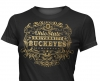 T Shirts • Travel Souvenir • Osu Label Gold Foil by Greg Dampier All Rights Reserved.
