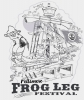 Illustration • Pencil • Frogleg Fest by Greg Dampier All Rights Reserved.