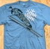 T Shirts • Travel Souvenir • Lake Placid Ski Jump by Greg Dampier All Rights Reserved.