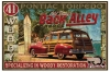 T Shirts • Vehicle Related • Ba Woody Vintage Art by Greg Dampier All Rights Reserved.