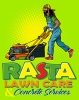 T Shirts • Business Promotion • Rasta Lawn Care Tee A by Greg Dampier All Rights Reserved.