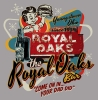T Shirts • Business Promotion • Royal Oaks Bar Vintage Sign by Greg Dampier All Rights Reserved.
