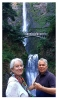 Photography • Marion Tonner And Phillip Carman At A Waterfall by Greg Dampier All Rights Reserved.
