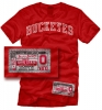 T Shirts • Sporting Events • Buckeyes Shirt Tag by Greg Dampier All Rights Reserved.