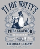 T Shirts • Business Promotion • Ti Joe Wattys Pub And Seafood Kilronan Tee by Greg Dampier All Rights Reserved.