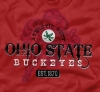 T Shirts • Sporting Events • Osu Buckeyes Red by Greg Dampier All Rights Reserved.