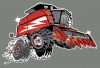 T Shirts • Vehicle Related • Harvester Hot Rod Toon by Greg Dampier All Rights Reserved.
