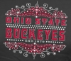 T Shirts • Sporting Events • Osu Buckeyes Bling by Greg Dampier All Rights Reserved.