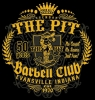 T Shirts • Business Promotion • The Pit Barbell Club 4 by Greg Dampier All Rights Reserved.