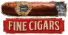 T Shirts • Business Promotion • Fine Cigars Vintage Sign by Greg Dampier All Rights Reserved.