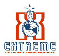 Extreme Cellular Logo Option 4 by Greg Dampier - Illustrator & Graphic Artist of Portland, Oregon