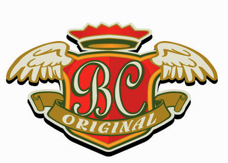 Bourbon Chicken Original Logo by Greg Dampier - Illustrator & Graphic Artist of Portland, Oregon