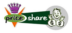 PriceShare.com Logo Option 3 by Greg Dampier - Illustrator & Graphic Artist of Portland, Oregon