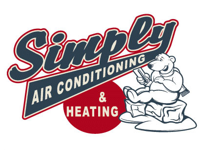 Simply Air Conditioning Logo Option 1 by Greg Dampier - Illustrator & Graphic Artist of Portland, Oregon