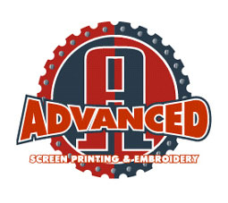Advanced Screen Printing Logo Option 4 by Greg Dampier - Illustrator & Graphic Artist of Portland, Oregon