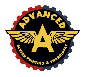 Advanced Screen Printing Logo Option 6 by Greg Dampier - Illustrator & Graphic Artist of Portland, Oregon