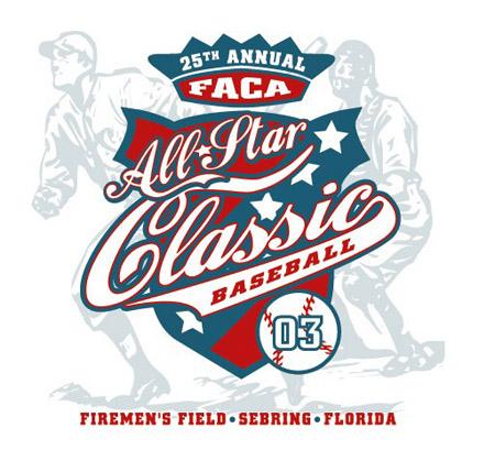Baseball All Star T Shirt Designs   T Shirts Sebring 25th Faca Allstar Baseball By Greg Dampier