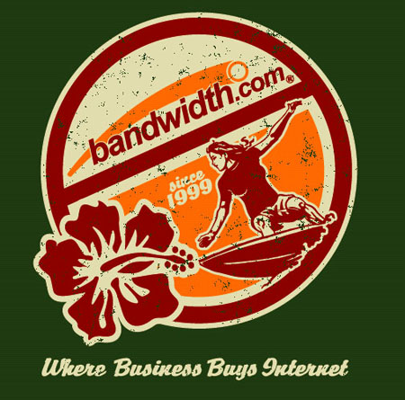 Bandwidth.com Shirt 5 by Greg Dampier - Illustrator & Graphic Artist of Portland, Oregon