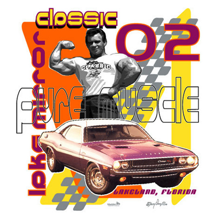 Pure Muscle Classic 02 by Greg Dampier - Illustrator & Graphic Artist of Portland, Oregon