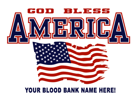 God bless america by Greg Dampier - Illustrator & Graphic Artist of Portland, Oregon