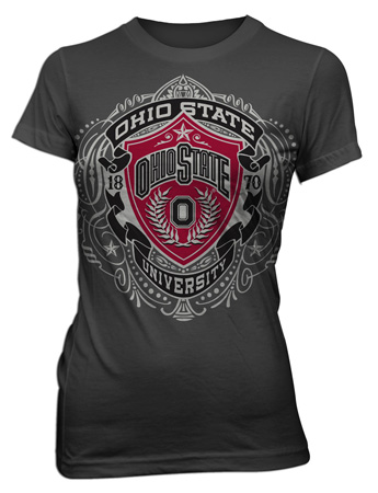 OSU shield chest by Greg Dampier - Illustrator & Graphic Artist of Portland, Oregon