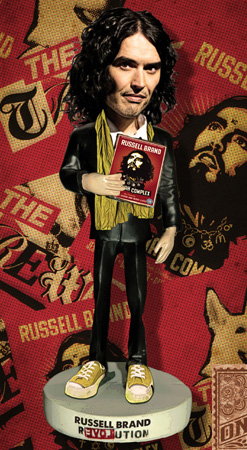 Russell Brand action figure by Greg Dampier - Illustrator & Graphic Artist of Portland, Oregon
