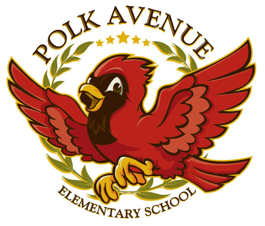 Polk Av logo by Greg Dampier - Illustrator & Graphic Artist of Portland, Oregon