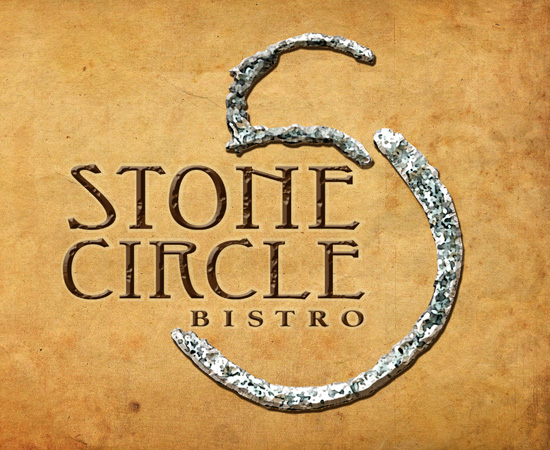 stone circle pogo treatment by Greg Dampier - Illustrator & Graphic Artist of Portland, Oregon