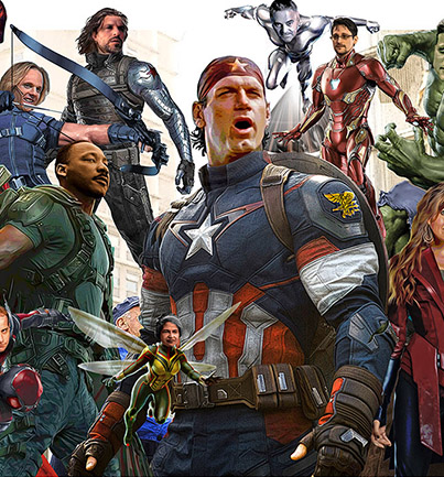 Real heroes Avenger Style fanart close by Greg Dampier - Illustrator & Graphic Artist of Portland, Oregon
