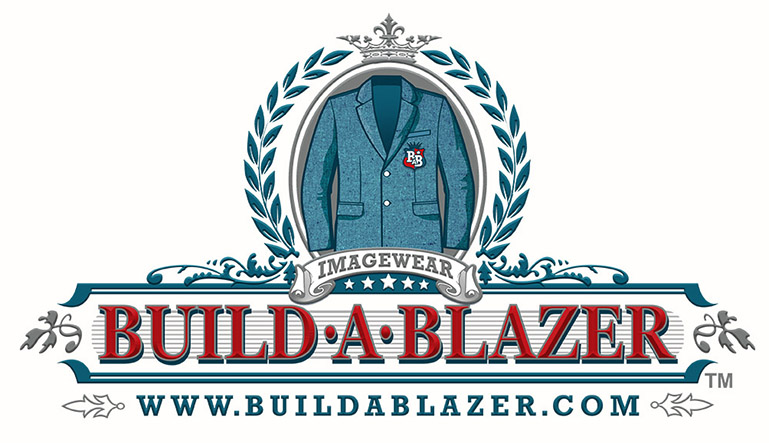 Build a Blazer logo by Greg Dampier - Illustrator & Graphic Artist of Portland, Oregon