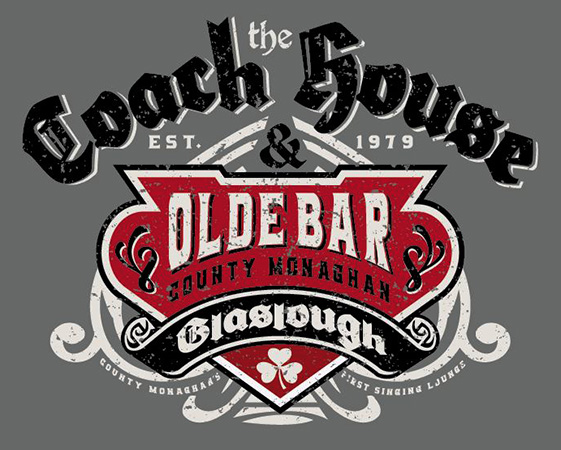 Coach House Pub Tee by Greg Dampier - Illustrator & Graphic Artist of Portland, Oregon
