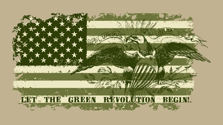 green revolution by Greg Dampier - Illustrator & Graphic Artist of Portland, Oregon