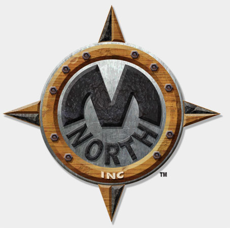 M North logo treatment by Greg Dampier - Illustrator & Graphic Artist of Portland, Oregon