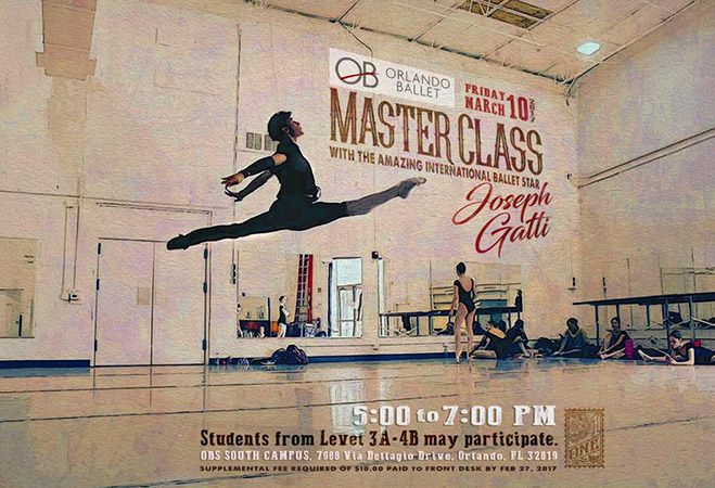 Ballet Master Class Poster by Greg Dampier - Illustrator & Graphic Artist of Portland, Oregon