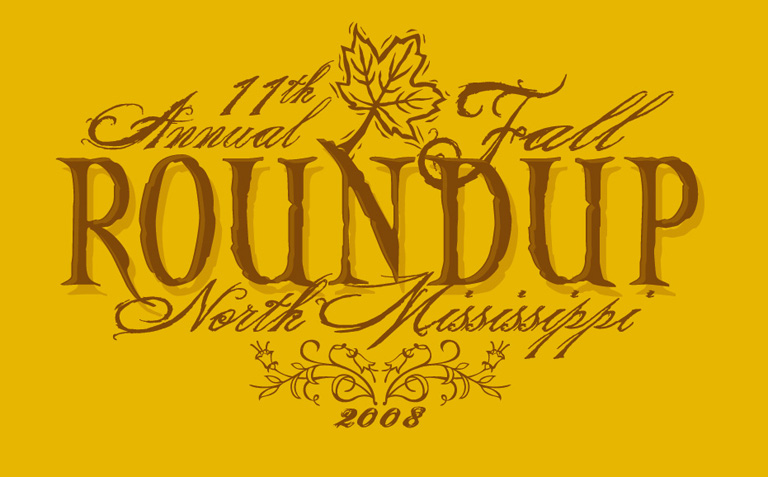 nm roundup logo by Greg Dampier - Illustrator & Graphic Artist of Portland, Oregon