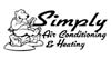 Logos • Simply Air Conditioning Logo Option 4 by Greg Dampier All Rights Reserved.