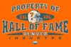 T Shirts • Sports Related • Denver Hall Of Fame 1 by Greg Dampier All Rights Reserved.