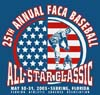 T Shirts • Sports Related • Sebring 25th Faca Baseball by Greg Dampier All Rights Reserved.