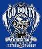 T Shirts • Sports Related • Tampa Bay Lightning Go Bolts 2 by Greg Dampier All Rights Reserved.