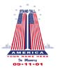 T Shirts • September 11th • Stand Tall 911 by Greg Dampier All Rights Reserved.