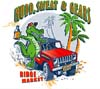 T Shirts • Vehicle Events • Mudd Sweat And Gears by Greg Dampier All Rights Reserved.