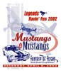 T Shirts • Vehicle Events • Fantasy Of Flight Mustangs 02 by Greg Dampier All Rights Reserved.