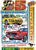 T Shirts • Vehicle Events • 35th Anniversary Mustang by Greg Dampier All Rights Reserved.