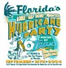 T Shirts • Miscellaneous Events • Florida Hurricane Party by Greg Dampier All Rights Reserved.