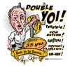 T Shirts • Sporting Events • Pittsburgh Double Yoi Cope by Greg Dampier All Rights Reserved.