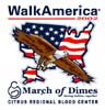 T Shirts • Non Profit Events • March Of Dimes Walk America 02 by Greg Dampier All Rights Reserved.