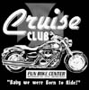 T Shirts • Vehicle Related • Fun Bike Center Cruise Club by Greg Dampier All Rights Reserved.