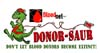 T Shirts • Blood Bank • Donorsaur Running by Greg Dampier All Rights Reserved.