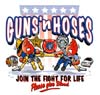 T Shirts • Blood Bank • Guns N Hoses by Greg Dampier All Rights Reserved.