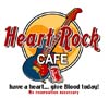 T Shirts • Blood Bank • Heart Rock Cafe by Greg Dampier All Rights Reserved.